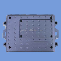 stamping machines high precision rectangle aluminum die casting part