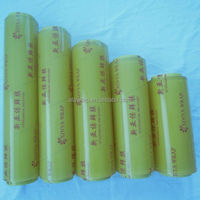hand use cling film/soft hardness best fresh food packing/plastic wrap