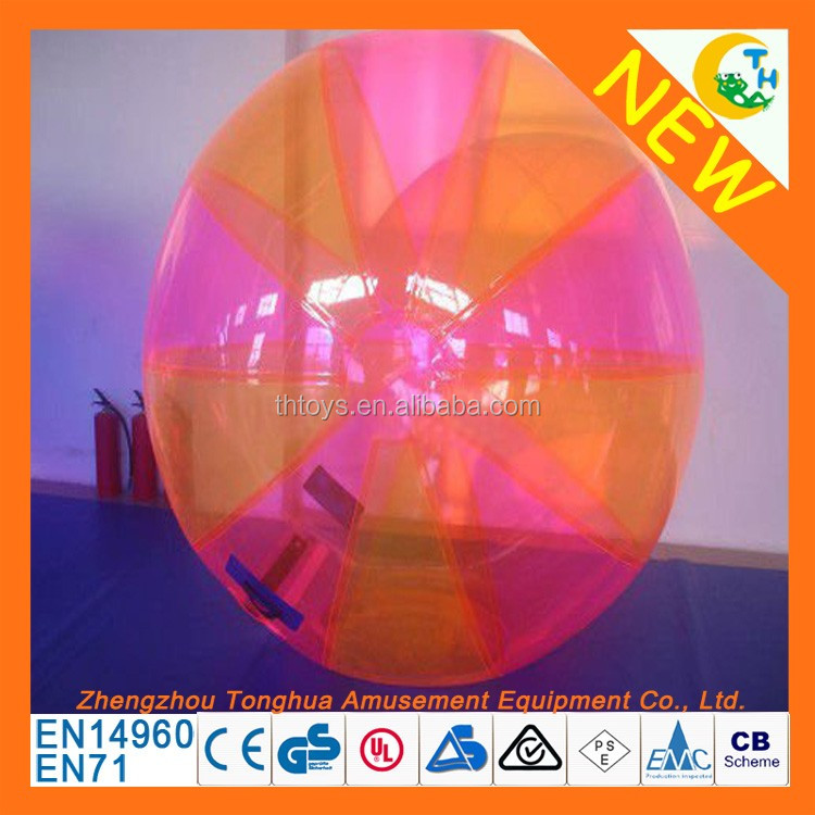High quality PVC or TPU material inflatable water walking ball