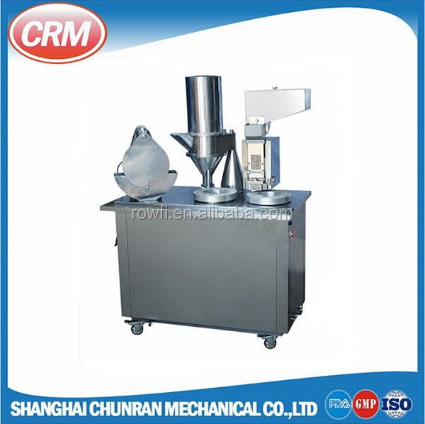 Low price semi automatic capsule filling machine from China