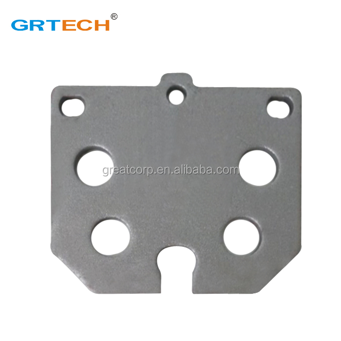 D114 front disc brake backing plate for toyot a corolla