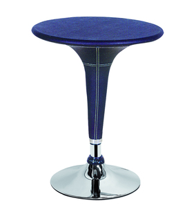 Modern style round bar table home high outdoor bar table