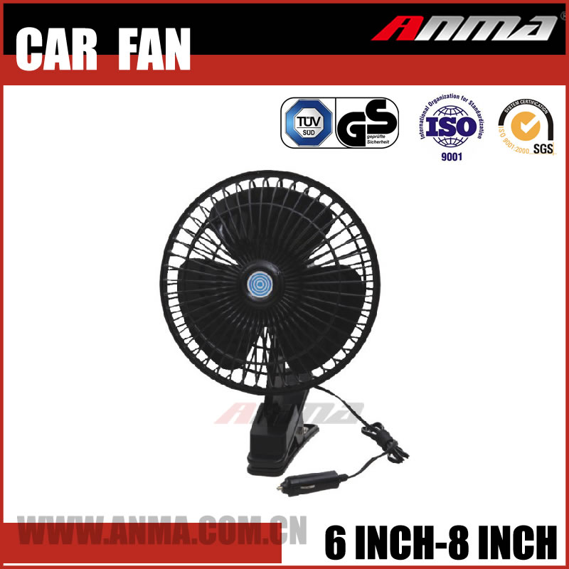 6 inch 60 Strips Full-Seal belt 12v car fan