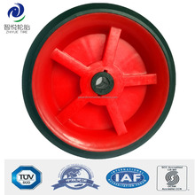 Hot sale 3 inch plastic wheel for shopping bag, push cart