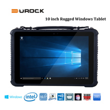 Logisitics 10 inch Windows 10 Rugged Tablet PC with 4GB Ram 64GB Rom integrated RS232 LAN Port RJ45 Rugged Windows Tablet