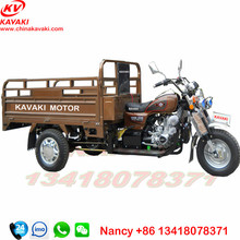 Customized cargo and Passenger Tricycle in china and three wheel closed tricycle petrol