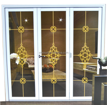 Guangdong Suppliers Aluminum Folding Door Glass Partition for Kitchen