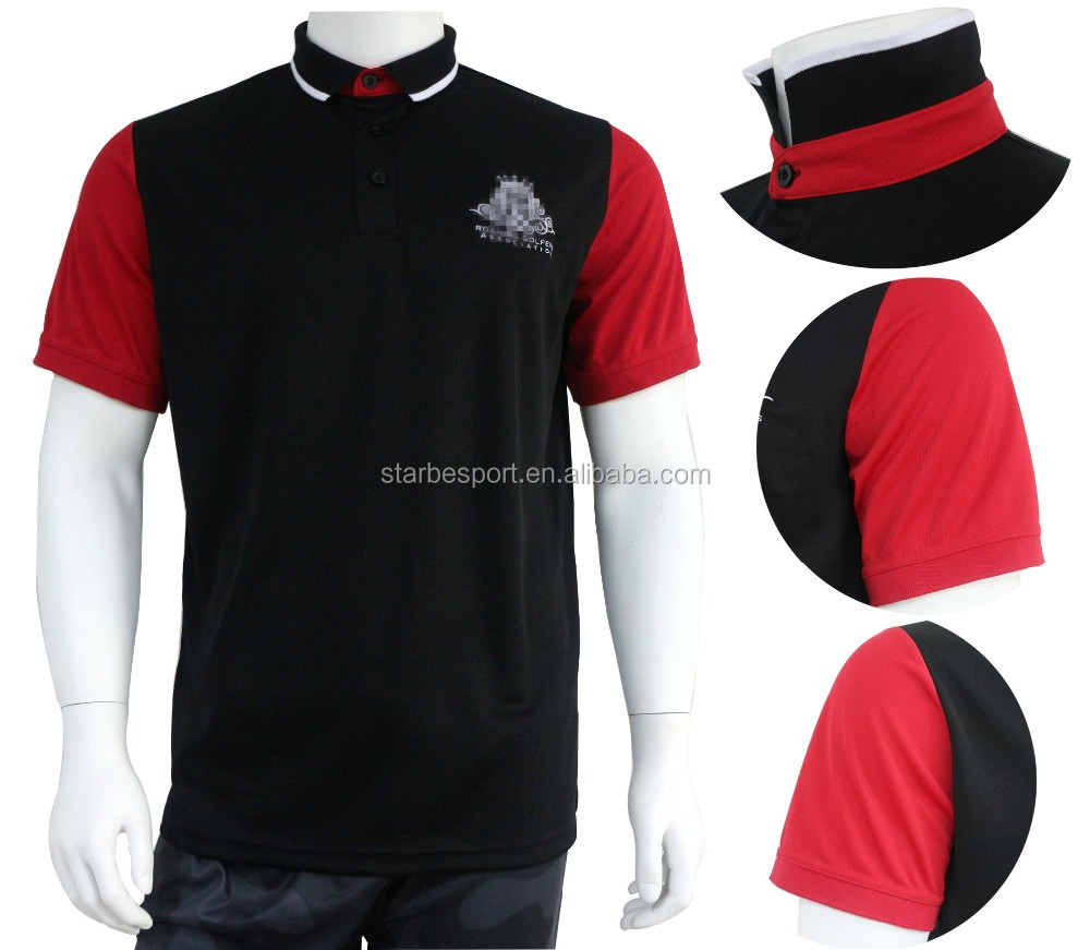 Custom Dry Fit Polyester Embroidery Company Logo Polo Shirt Buy
