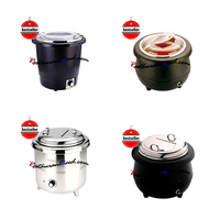 Electric Pretty Workmanship Temperature Adjustable Soup Pot