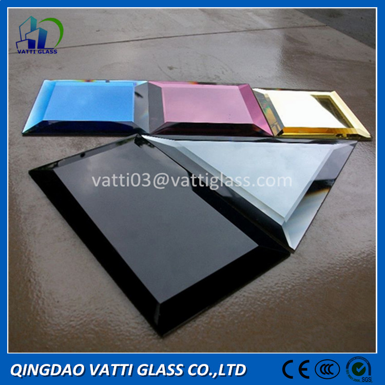 China Mirror Manufacturer high grade custom cut mirror edge finished mirror