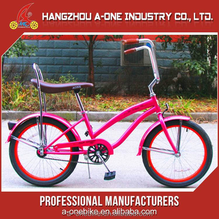 2017 Popular single speed male beach cruiser bicycle suspension fork