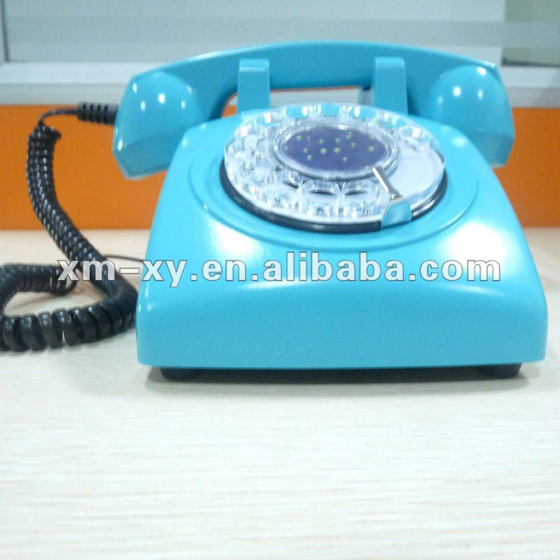antique decorative corded telephone