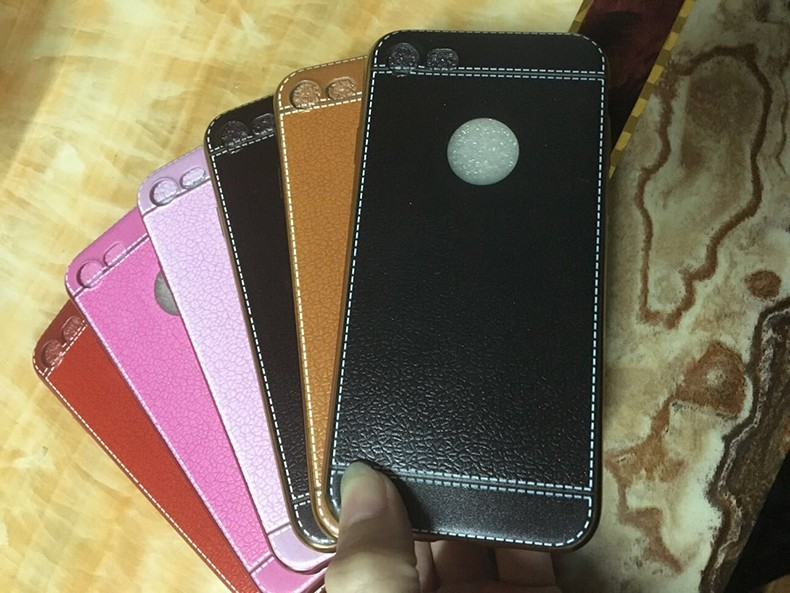 Customizable Luxury leather cases for iPhone 6s / 6s Plus / 7 / 7 Plus with cheapest price wholesale