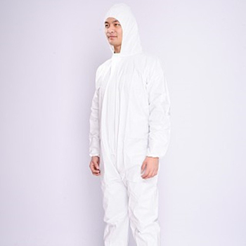 The Cheapest disposable microporous coverall Applied to industrial, medical, food service for safety