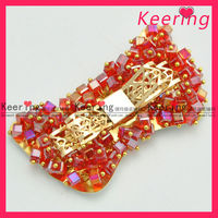 Hot Sale Crystal Metal Accessory For