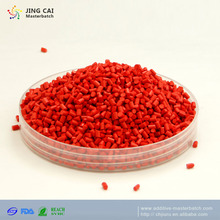 ABS PE PP PSCpellets stretch film injection red phosphorus flame retardant color masterbatch plastic granule