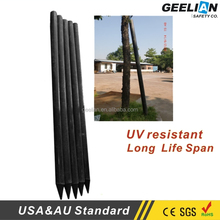Standard Moveable cheap Vinyl plastic yard guard fencing sale