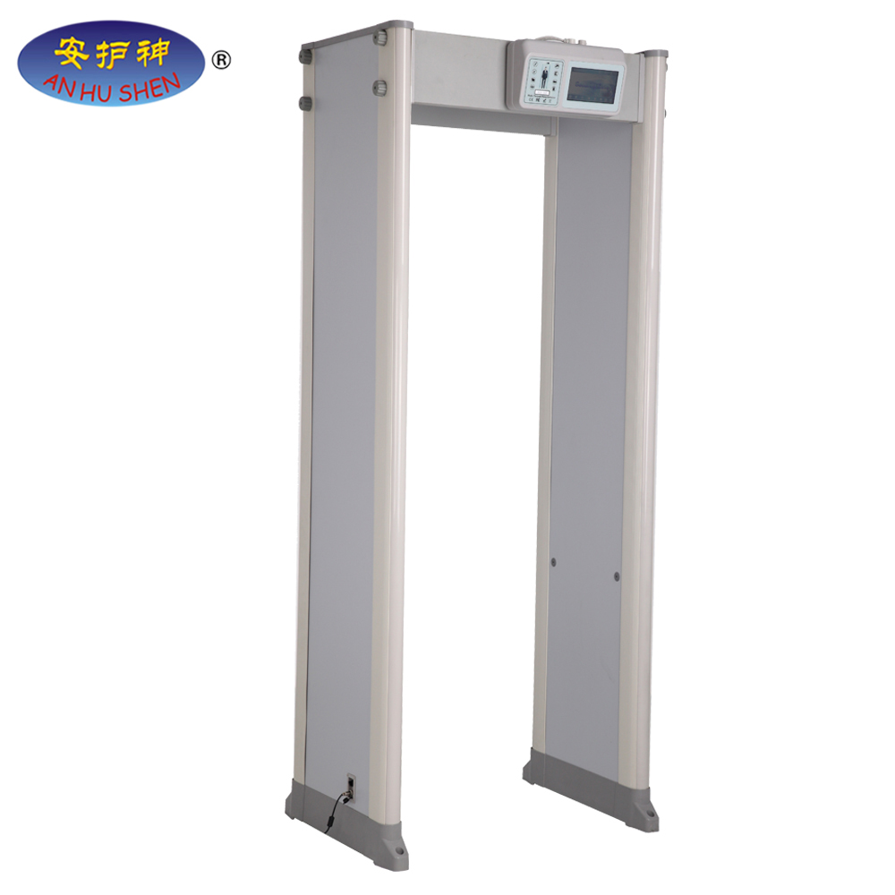 New design Multi-존 아치형 walk through metal detector
