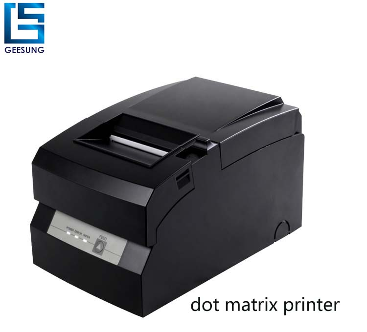 bill paper 9-pins dot matrix printer head printer