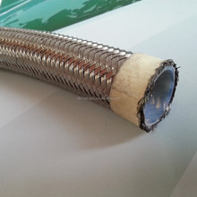 Teflon Hose with Stainless Steel 304 braid - PTFE Hose SAE 100 R14
