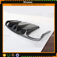 Car-Styling Carbon Fiber Materia Black Rear Lip for Mercedes (2010-2013)E Class W207