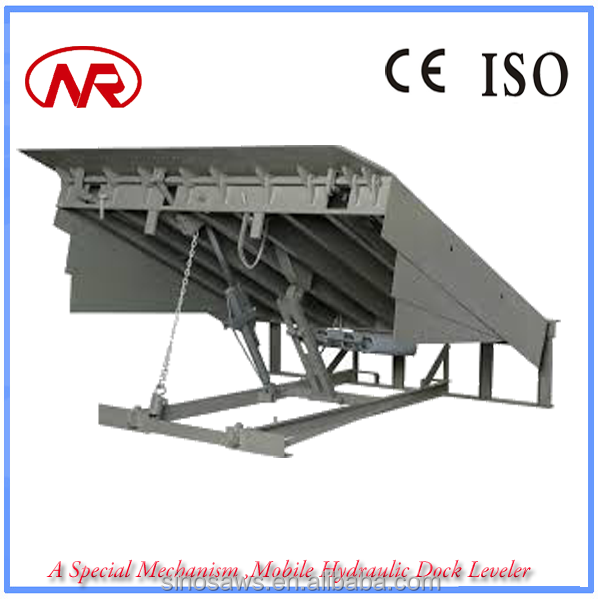 A Special Mechanism ,Mobile Hydraulic Dock Leveler Material Loading Equipment