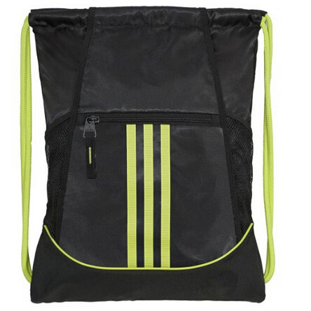 Factory Price Promotional Custom Drawstring Bag With Front Zipper Pocket