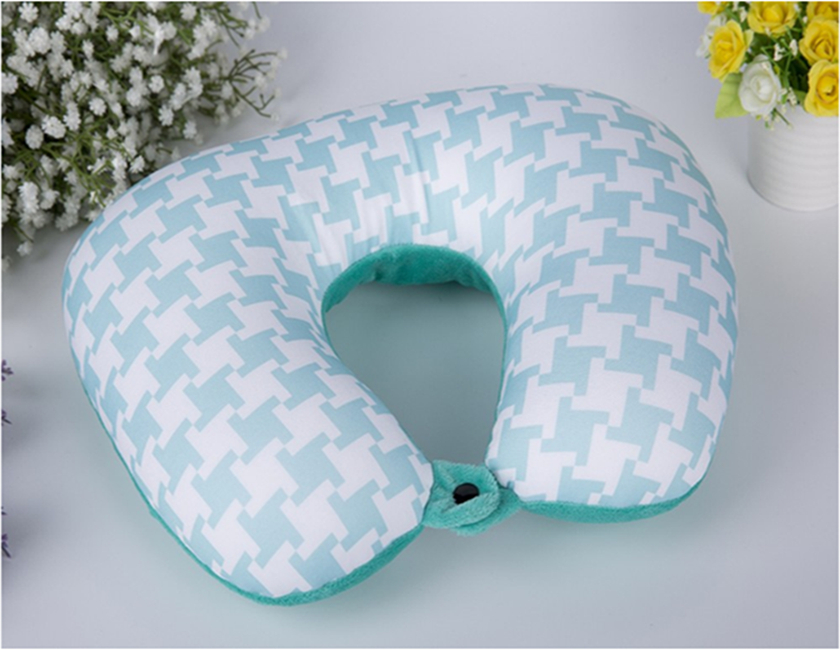 Customized printing U shape car pillow