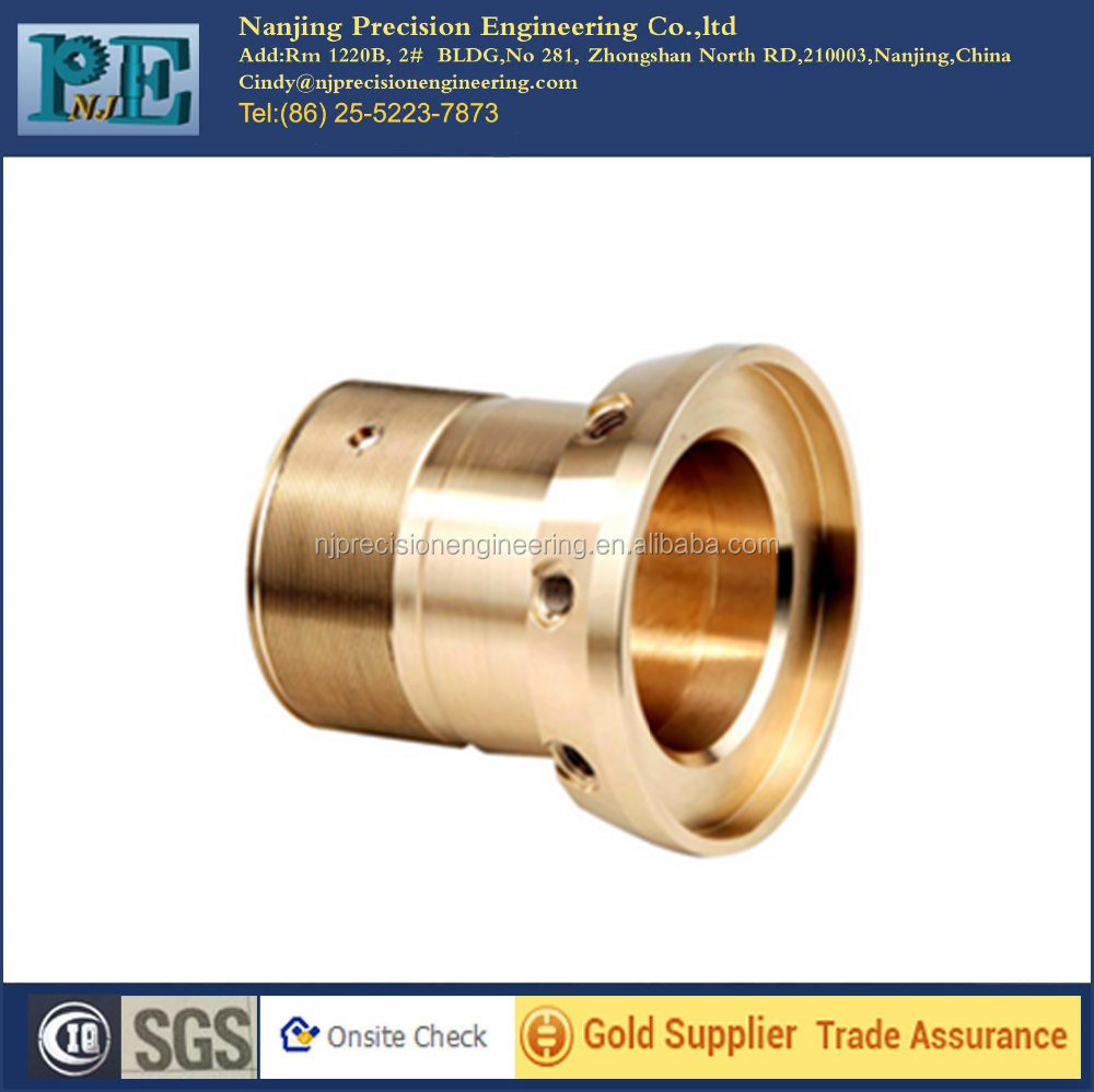 Machine Parts Product : Custom brass lathe turning machine mechanical parts