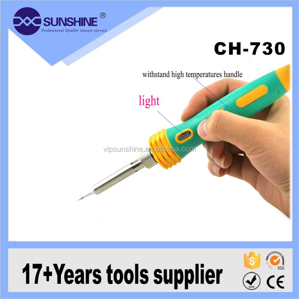 50w lead-free Electric ceramic soldering iron kit goot