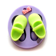 Silicone Shoes Cake Mould Fondant Soap Chocolate Baking Mould