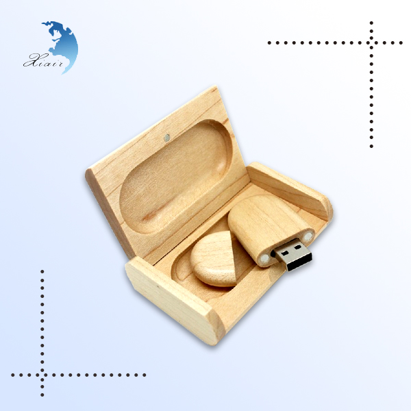 Laser engraving blanks usb flash drive 4gb with wooden box usb stick