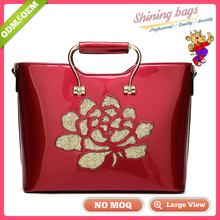 Direct Buy Guangzhou Manufacturers China Fashion Ladies Famous Design Own Brands Genuine Luxury Leather Mature Women Handbags