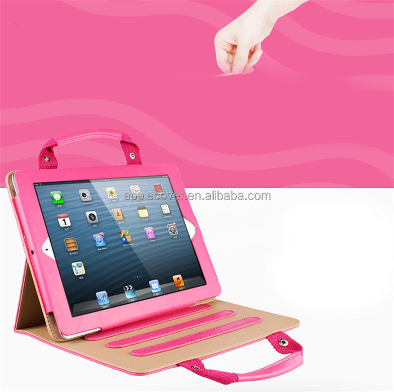 For ipad mini 2 multi-function handbag cases