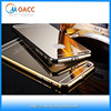 New Luxury Ultra-thin gold Metal Bumper Mirror Case for iPhone 6 Mirror case