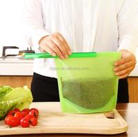 2016 Silicone fresh vegetable food packaging bag