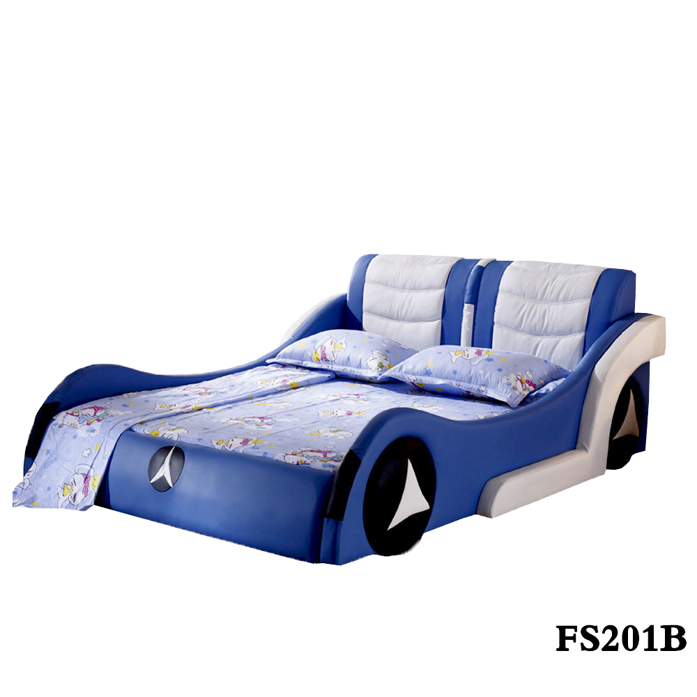 BMW BLUE WOOD CHILDREN/KIDS RACE CAR BED SPECIFIC USE CHILDREN/KIDS BED