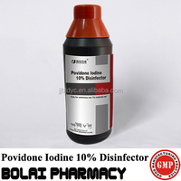 Povidone Iodine solution disinfectant 10% used poultry equipment