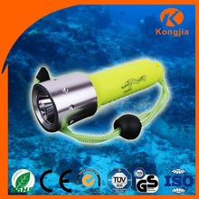 Ultra Bright Portable 10W XML T6 LED ABS Waterproof Flashlight Torch Dive Lantern