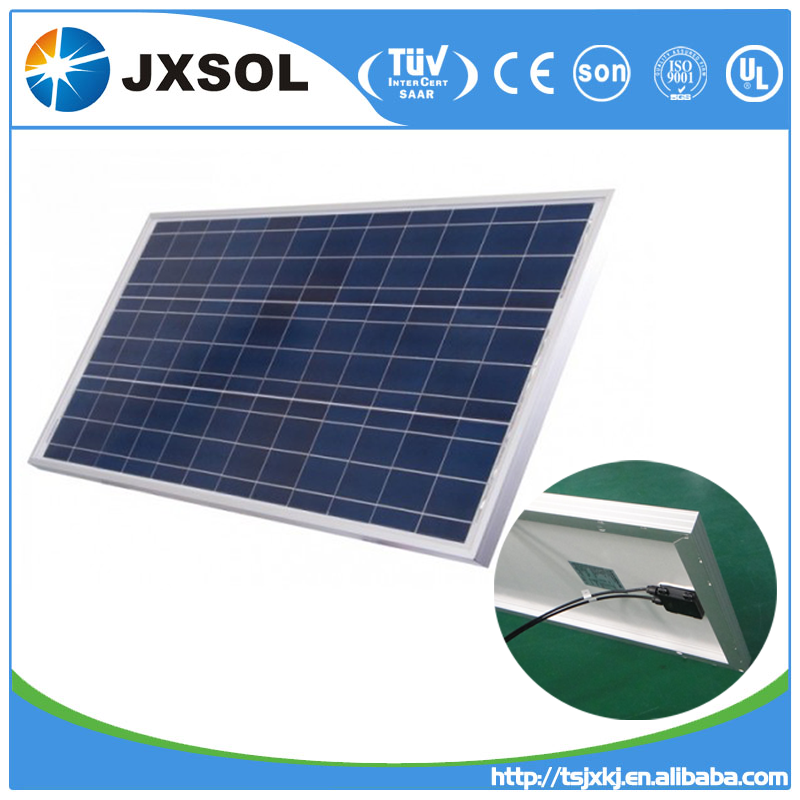 High efficiency polycrystalline photovoltaic cell solar panels 70 watt with TUV and CE certificates