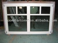 Double panels Wood Windows