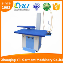 jinding Save energy Steam heating automatic cloth ironing machine price with boiler iron