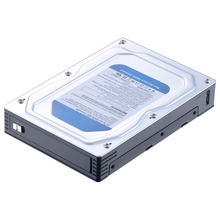 "Unestech ST5510U Single Bay 2.5"" to 3.5"" Aluminum Case SATA HDD Enclosure Converter SATA Mobile Rack with USB 3.0 Micro Port"