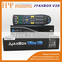 Jyaxbox Ultra HD V20 FTA Digital Satellite TV Receiver With turbo 8psk JB200 and Wifi adapter JyaxBox v20 for north america