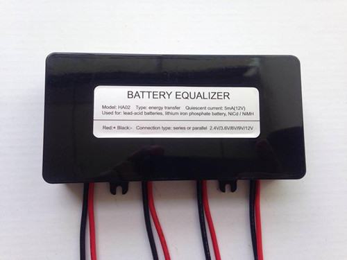 Battery balancer for 2.4V 3.6V 6V 9V 12V batteries
