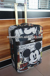 Outside EVA Mickey Mouse Trolley Luggage