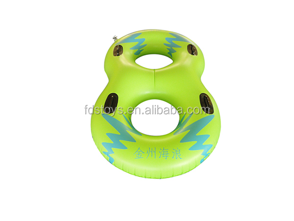 double turn pool float swim ring inflatable twin swim ring pool float toys