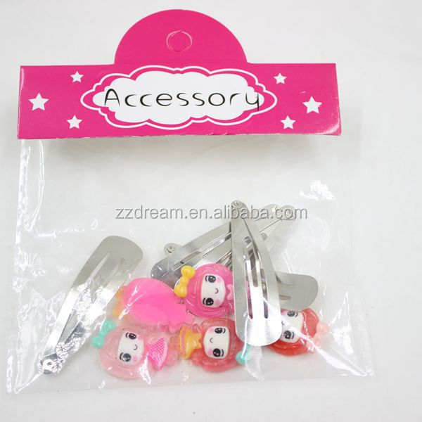 Professional fashion products hair clips accessories hair clip wholesale Lovely baby girls hair clip accessories