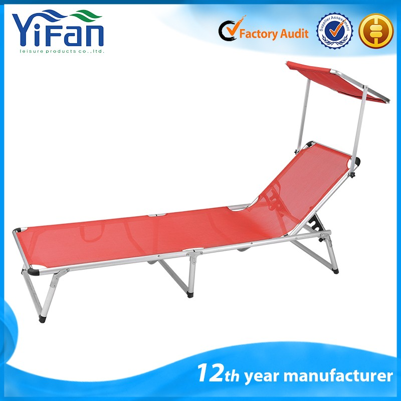Adjustable Outdoor Folding Sun Lounger Beach Beds