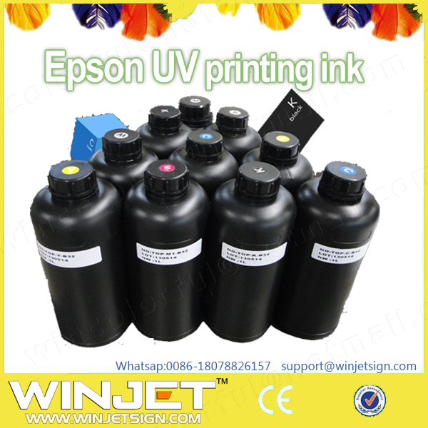 Digital inkjet UV label printer uv invisible ink hot sale